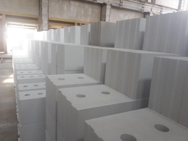 Готовые силикатные блоки