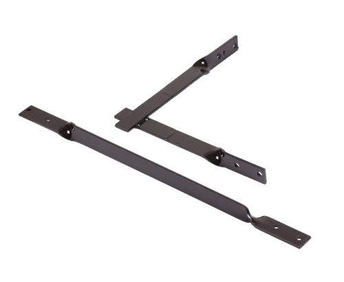 Fence mounting rack