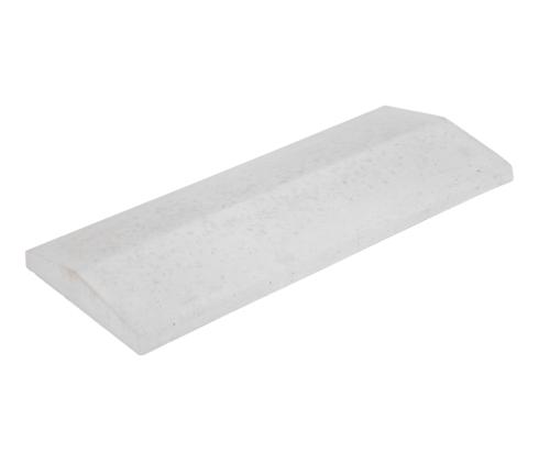 Concrete masonry cover plate