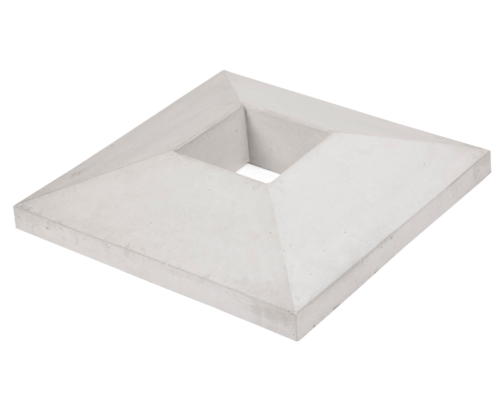 Concrete chimney cap small